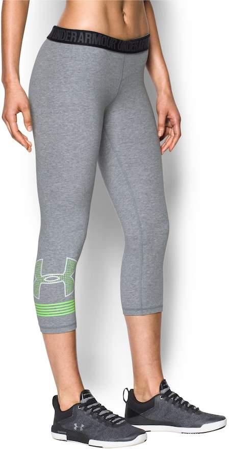 Under Armour Women's Under Armour Favorite Graphic Capri Leggings