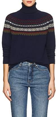 Barneys New York Women's Fair Isle Cashmere Turtleneck Sweater