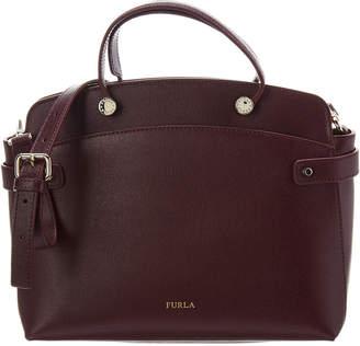 Furla Agata Medium Leather Satchel