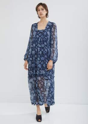 At La Garçonne Raquel Allegra Fl Bandana Chiffon Empress Dress