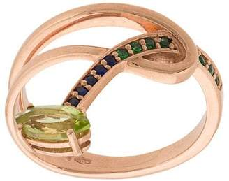Bea Yuk Mui Bongiasca Gloriosa Lily hoop stacking ring