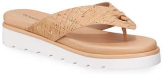 Donald J Pliner Leanne Cork Thong Sandals