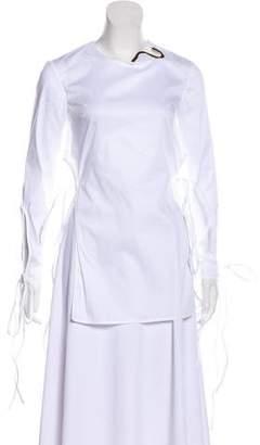 Esteban Cortazar Embellished Long Sleeve Tunic