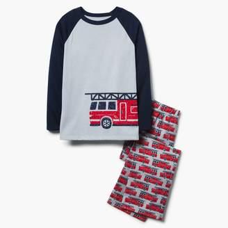 Fire Truck 2-Piece Pajamas