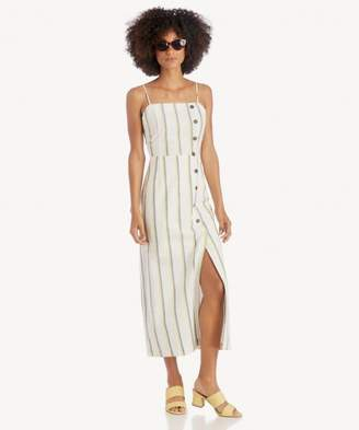 Sole Society Button Down Maxi Dress