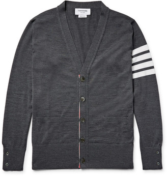 Thom Browne Striped Wool Cardigan $950 thestylecure.com