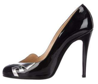 Christian Louboutin Love 100 Patent Pumps