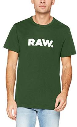 G Star Men's Holorn R T S/s T-Shirt, (Sartho Blue 6067)