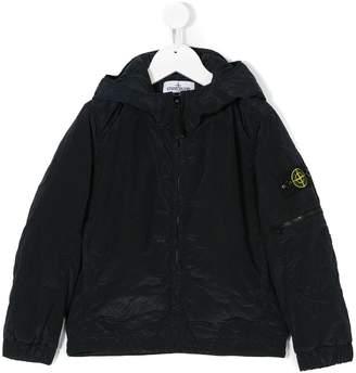 Stone Island Junior zipped jacket
