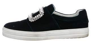 Roger Vivier Sneaky Viv Slip-On Sneakers