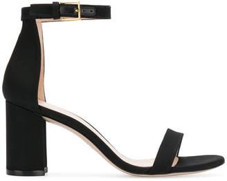 Stuart Weitzman 75LessNudist block heel sandals