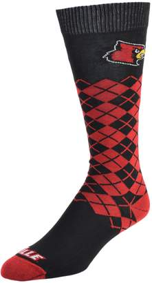 NCAA Women's Mojo Louisville Cardinals Argyle Socks