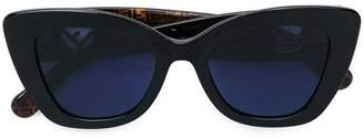 Fendi Eyewear monogram frame sunglasses