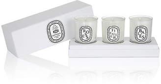 Diptyque Women's Set Of 3 Mini-Candles