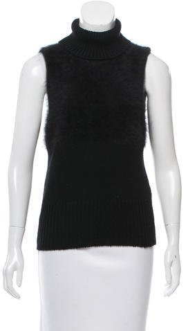 Bottega Veneta Bottega Veneta Sleeveless Turtleneck Top