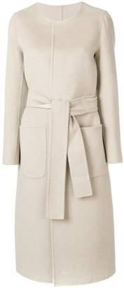 Tagliatore long sleeved A-line coat