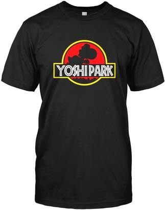 Nintendo Limit Break Clothing Yoshi Park T-shirt Super Mario Yoshi Jurassic Park Top Tee