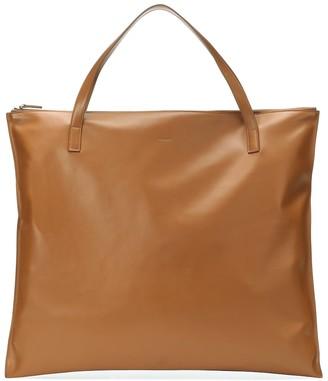 Jil Sander Oversized leather tote