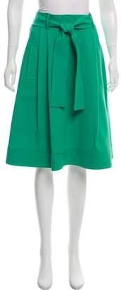 Oscar de la Renta A-Line Knee-Length Skirt