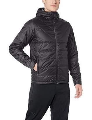Peak Velocity Men's Insulated Hoodie Athletic-Fit Jacket