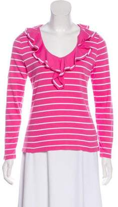 Lauren Ralph Lauren Striped Knit Top
