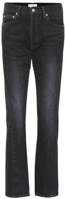 Balenciaga Straight-leg cotton jeans