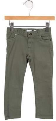 Tartine et Chocolat Girls' Jewel-Embellished Straight-Leg Jeans w/ Tags