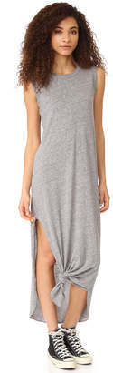 THE GREAT. The Sleeveless Knotted Tee Dress $175 thestylecure.com