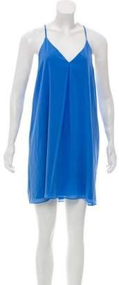 Alice + Olivia Silk Slip Dress