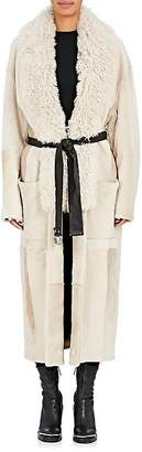 Alexander Wang Women's Shearling Wrap Coat