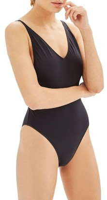 Women's Topshop Pamela One-Piece Swimsuit $38 thestylecure.com
