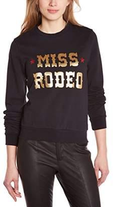 American Retro Women's Mirko Sweatshirt Noir (Black), 8