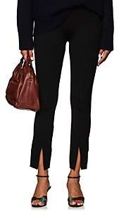 The Row Women's Thilde Ankle-Slit Crop Trousers - Black