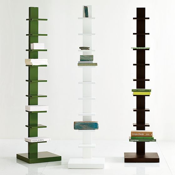 Spine Wood Bookcase