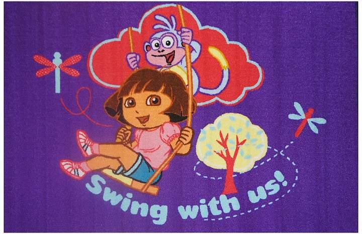 Sunny Rugs Dora the Explorer Swing Kids Rug
