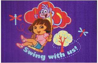 Sunny Rugs Dora the Explorer Swing Kids Rug