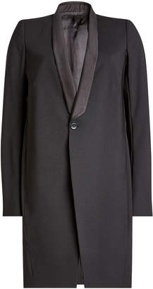 Rick Owens Virgin Wool Blazer Coat