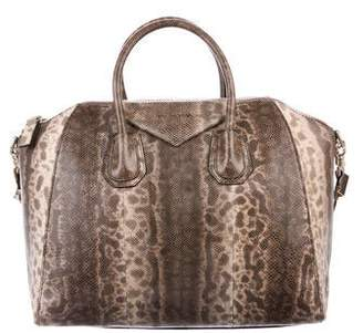 Givenchy Snakeskin Medium Antigona Bag