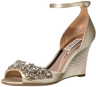 Badgley Mischka Women's Barbara Wedge Sandal