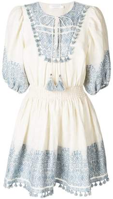 Zimmermann short printed dress