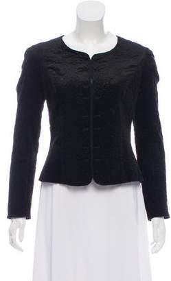 Rochas Patterned Velvet Jacket