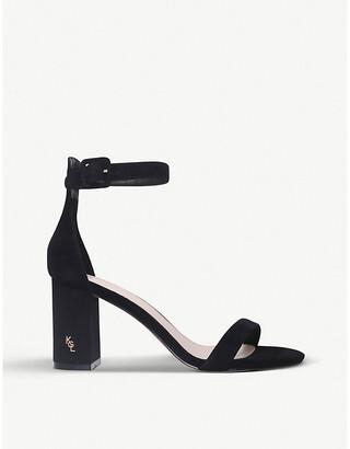 Kurt Geiger London Langley suede heeled sandals