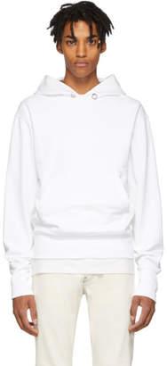 Helmut Lang White Standard Hoodie