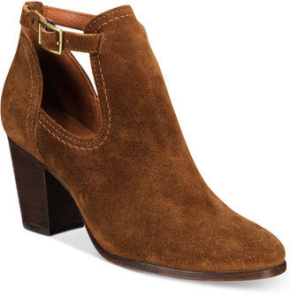 Frye Women's Meghan Suede Shooties, a Macy's Exclusive Style Women's Shoes $228 thestylecure.com