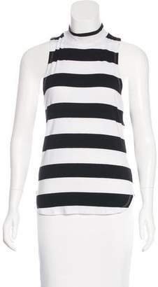 Frame Striped Sleeveless Top w/ Tags