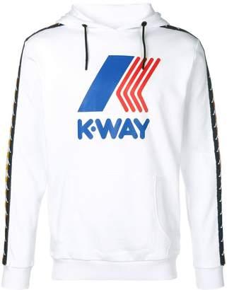 Kappa K WAY X graphic print hoodie