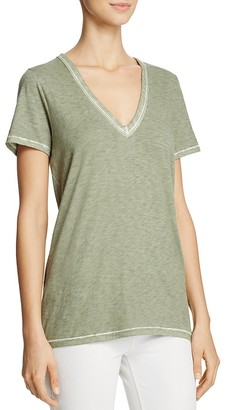rag & bone/JEAN Sublime Wash V-Neck Tee $85 thestylecure.com