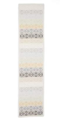Loewe Monogram Stripe Scarf