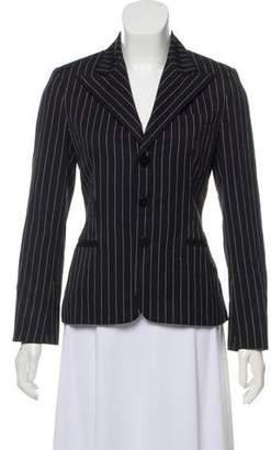 Ralph Lauren Black Label Pinstripe Wool Blazer