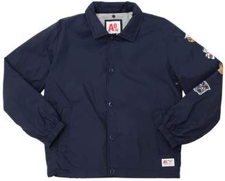 Patches Nylon Jacket W/ Jersey Lining